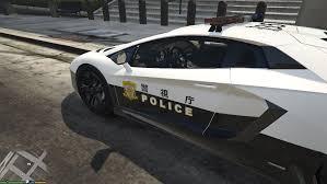 police lamborghini japanese police lamborghini aventador gta5 mods com