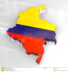 Map Of Columbia Columbia Map And Flag Royalty Free Stock Image Image 2311706