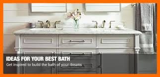 Bath Ideas  HowTo Guides At The Home Depot - Home depot bathroom design