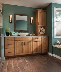 vanity shenandoah cabinetry in maple mocha cottage door