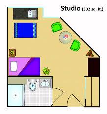 Small Studio Floor Plans by Senior Living Floor Plans Grand Villa Of Ormond Beach