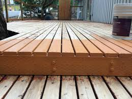 exterior design deck and exterior tips applying behr deck over