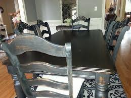 Oak Dining Room Table Chairs Oak Dining Room Set Makeover Hometalk