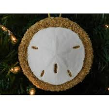 christmas ornament sand dollar