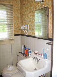 Powder Room Makeover Ideas Bathroom Window Treatments For Privacy Hgtv