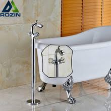 Free Standing Faucets Popular Freestanding Bathtub Faucets Buy Cheap Freestanding