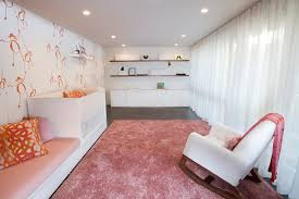 nursery room idea inspiring baby room of pink and monkey theme