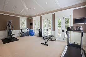 Modern Home Gym Ideas Design Accessories  Pictures Zillow - Home gym interior design