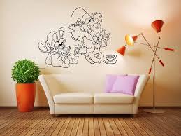 wall vinyl sticker decals mural room design alice in wonderland
