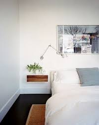 nightstand ideas best 25 floating nightstand ideas on pinterest with wall mounted