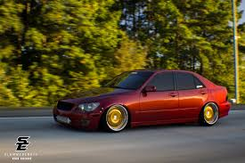 slammed lexus is300 nick hinson is300 slammedenuff