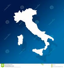 Sicily Italy Map Italy And Sicily Outline Map Stock Image Image 2026641