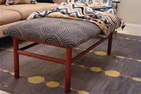 after dinner design d i y tutorial how to recover an ottoman or