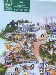 Universal Studio Orlando Map by Inside Universal On Twitter