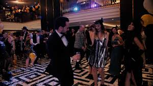 the greatest gatsby party at hilton vienna plaza youtube