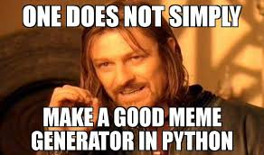 What Font Does Meme Generator Use - captioning memes in python