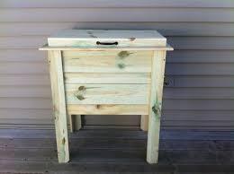 deck cooler box by wiscobuilder lumberjocks com woodworking