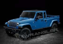 jeep open top 2019 jeep wrangler pickup rendered