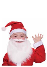 santa beard child santa beard and moustache