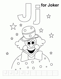 letter coloring sheet kids coloring