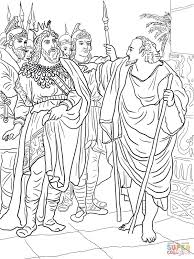elijah and king ahab coloring page free printable coloring pages
