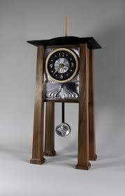 Pewter Mantle Clock Steven Hampson Fine Furniture Arts And Crafts Inspired Mantle