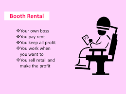booth rental start your beauty career in the spot for you