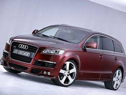 audi q7 tuning look je design spices up the 2008 audi q7 with