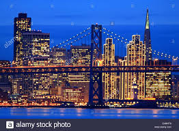 christmas lights san francisco san francisco city skyline with holiday lights on at night and the