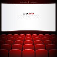 siege de cinema écran de cinéma et de sièges télécharger des vecteurs gratuitement