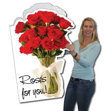 amazon com 2 u0027 x 3 u0027 giant anniversary card rose w envelope