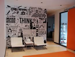 graphic wall design office interior graphic design design wall