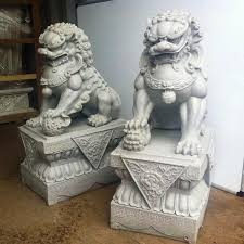 lions statues lion statues for front porch in of buildings 3 36 guardian
