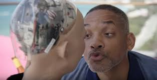 Seeking Robot Date Will Smith Goes On An Awkward Date With The Robot