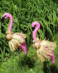 7 hilarious ways to hack pink plastic flamingos lawn ornaments