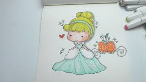 how to draw cinderella easy step by step diy youtube