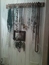 Jewelry Wall Hanger Creative Diy Necklace Hanger Out Of The Box Idea U2013 Hooks Under A