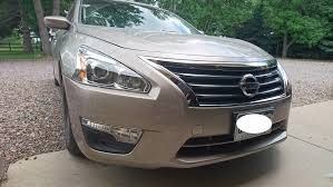 nissan altima 2013 headlight replacement painted 2013 2015 nissan altima oe replacement front bumper cover