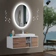 radio bathroom mirror bathroom lighting mirror with lights builtn mirrors led radio