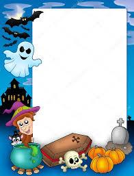 halloween frame halloween frame 1 u2014 stock photo clairev 2940845