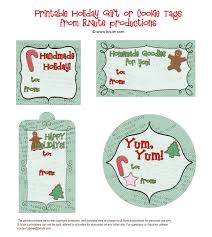 bnute productions free printable holiday gift tags
