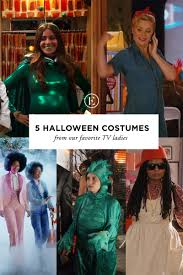 5 halloween costumes from our favorite tv ladies the everygirl