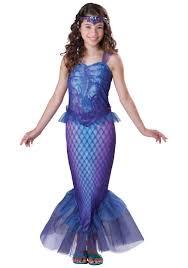 bane mask spirit halloween mermaid halloween costume tween mysterious mermaid costume