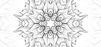 ideas of printable leaf mandala coloring page with additional