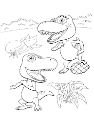 dinosaur train coloring pages kids printable coloringstar