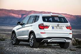 2017 bmw x3 vs 2018 2015 bmw x3 first look motor trend