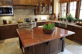 different countertops kitchens with two different granites granite countertops different