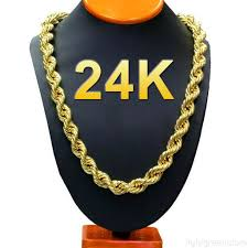 long necklace men images 24k gold long chain necklace men jewelry brand gothic gold color jpg