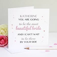 best wishes for wedding card personalised beautiful greeting card by martha brook