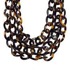 chain necklace images Lb n4311 693 lorren bell triple curb chain necklace false jpg
